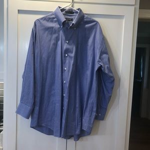 ***3 for $35**Blue striped Nautica Dress Shirt